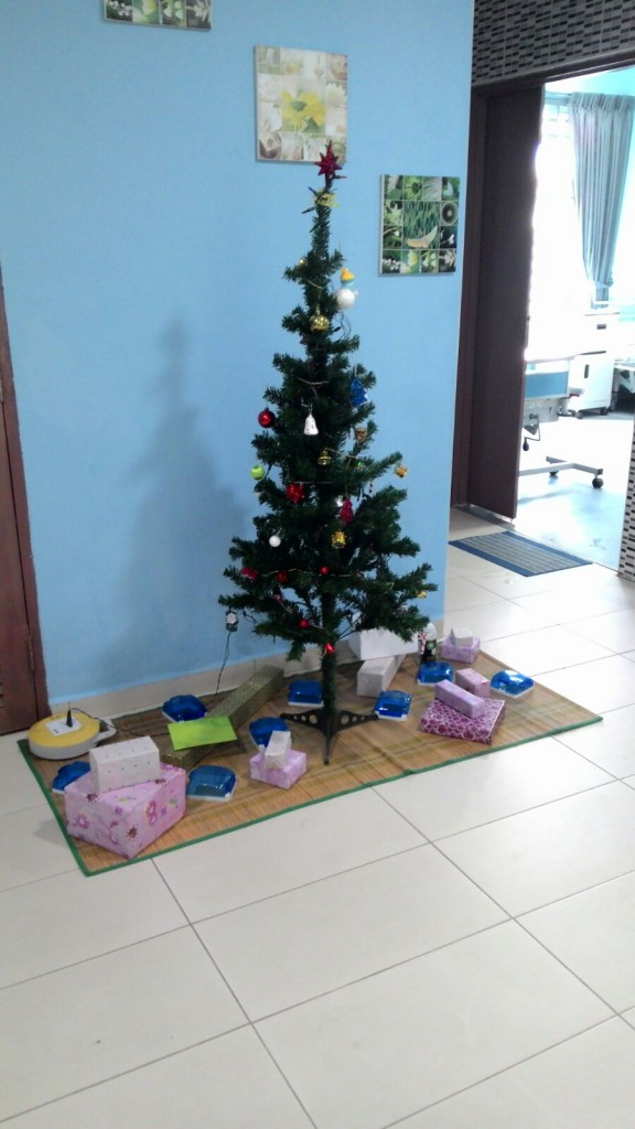 Merry X'mas from Clover Care Centre